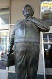 Jackie Gleason Statue stock photo