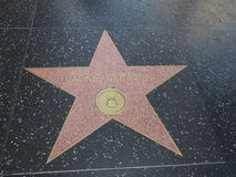 Jackie Gleason-ster in hollywood Stock Foto