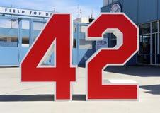 Jackie Robinson Monument Royalty Free Stock Image