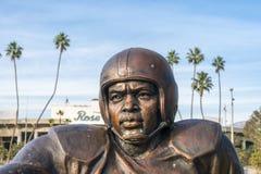 Jackie Robinson Pamiątkowa statua przy rose bowl Obraz Stock
