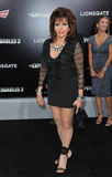 Jackie Stallone royalty-vrije stock afbeelding