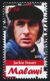 Jackie Stuart fotografia stock