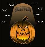 Jackolantern. Haloween Jack o Lantern with eyes in the background Royalty Free Stock Photo