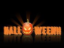 JackOLantern Pumpkin isolated royalty free stock image