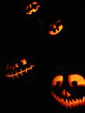 Jackolanterns Royalty Free Stock Photos