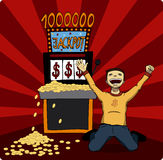 Jackpot stock illustration