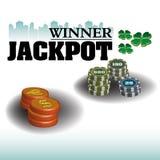 Jackpot Stock Photo