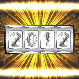 Jackpot 2012 Stock Photography