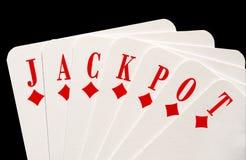 Jackpot Foto de Stock Royalty Free