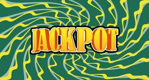 jackpot vektor illustrationer