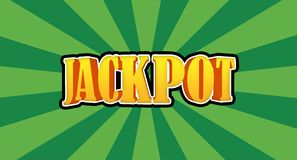 Jackpot Royalty Free Stock Photo