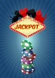 Jackpot casino Royalty Free Stock Photography