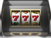 Jackpot. 3d illustration of slot machine jackpot vector illustration