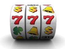 Jackpot. 3d illustration of jackpot symbol over white background stock illustration
