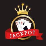 Jackpot design Stock Image