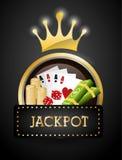 Jackpot design. Jackpot digital design, vector illustration 10 eps graphic royalty free illustration