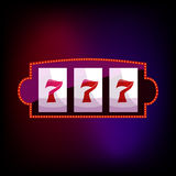 Jackpot icon in cartoon style. For any design royalty free illustration