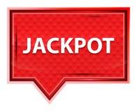 Jackpot misty rose pink banner button royalty free illustration