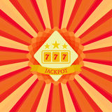 Jackpot and sevens Stock Images