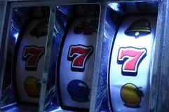 Jackpot on slot machine Stock Photo