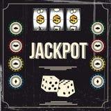 Jackpott Arkivbild