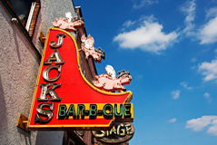 Jacks Bar-B-Que Royalty Free Stock Images