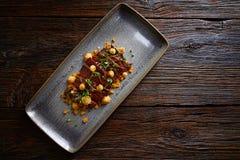 Jacks beef with corn USA recipe Stock Photo