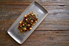 Jacks beef with corn USA recipe Stock Photos