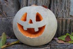 ` Jacks O Laternenkürbis für den Halloween-Hintergrund Lizenzfreie Stockfotos