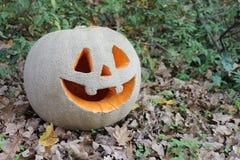` Jacks O Laternenkürbis für den Halloween-Hintergrund Lizenzfreies Stockbild