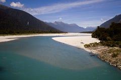 Jackson Bay New Zealand imagen de archivo libre de regalías