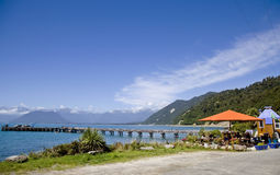 Jackson Bay New Zealand foto de archivo