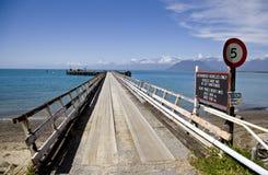 Jackson Bay New Zealand fotografía de archivo