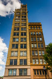 The Jackson Building in downtown Asheville, North Carolina. Royalty Free Stock Photography