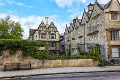 Jackson Building Trinity College Oxford universitet, Oxford, England royaltyfri foto