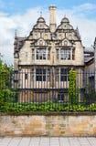 Jackson Building Trinity College Oxford universitet, Oxford, England fotografering för bildbyråer
