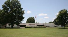 Jackson, consejo escolar del TN granangular fotos de archivo