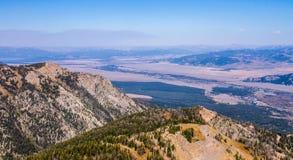 Jackson dziura Wyoming Zdjęcie Royalty Free