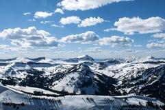 Jackson dziury pasmo górskie Zdjęcia Royalty Free