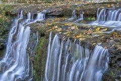 Jackson Falls at Natchez Trace Parkway. Detail of Jackson Falls at Natchez Trace Parkway, fall scenery stock photography