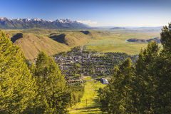 Jackson Hole Royalty Free Stock Photography