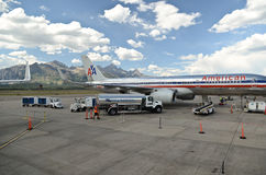 Jackson Hole airport Stock Photos