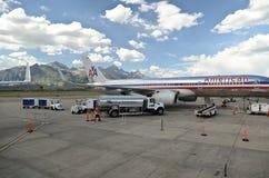 Jackson Hole airport stock photos