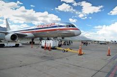 Jackson Hole airport stock photo