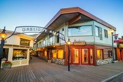 Jackson Hole du centre au Wyoming Etats-Unis Image libre de droits