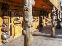 Jackson Hole - miljon dollarcowboy Bar Arkivfoton