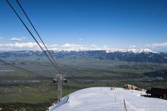 Jackson Hole Mountain Range foto de archivo