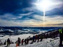Jackson Hole Scenery Foto de Stock Royalty Free