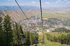 Jackson Hole, Wyoming Stock Image
