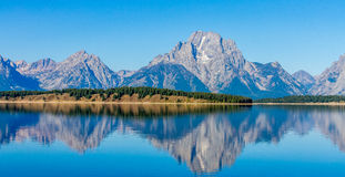 Jackson Hole Wyoming Arkivbild